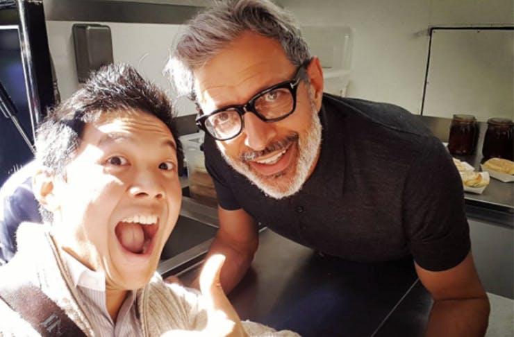 Jeff Goldblum in sydney