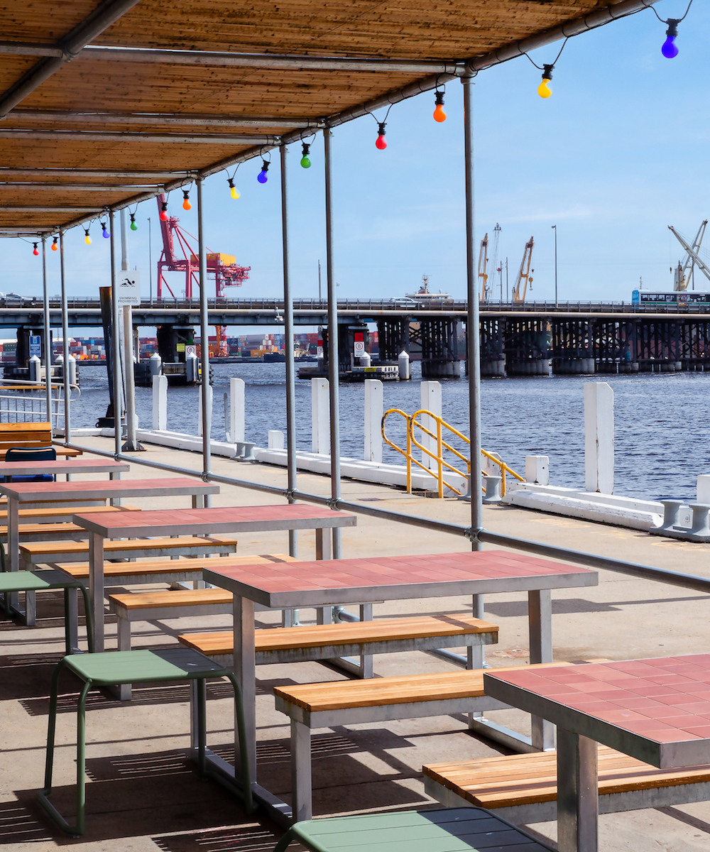 new waterfront restaurant and bar in Fremantle