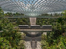 Here's A Peep At The World's Tallest Indoor Waterfall