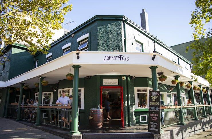 Exterior of new Johnny Fox's in Northbridge