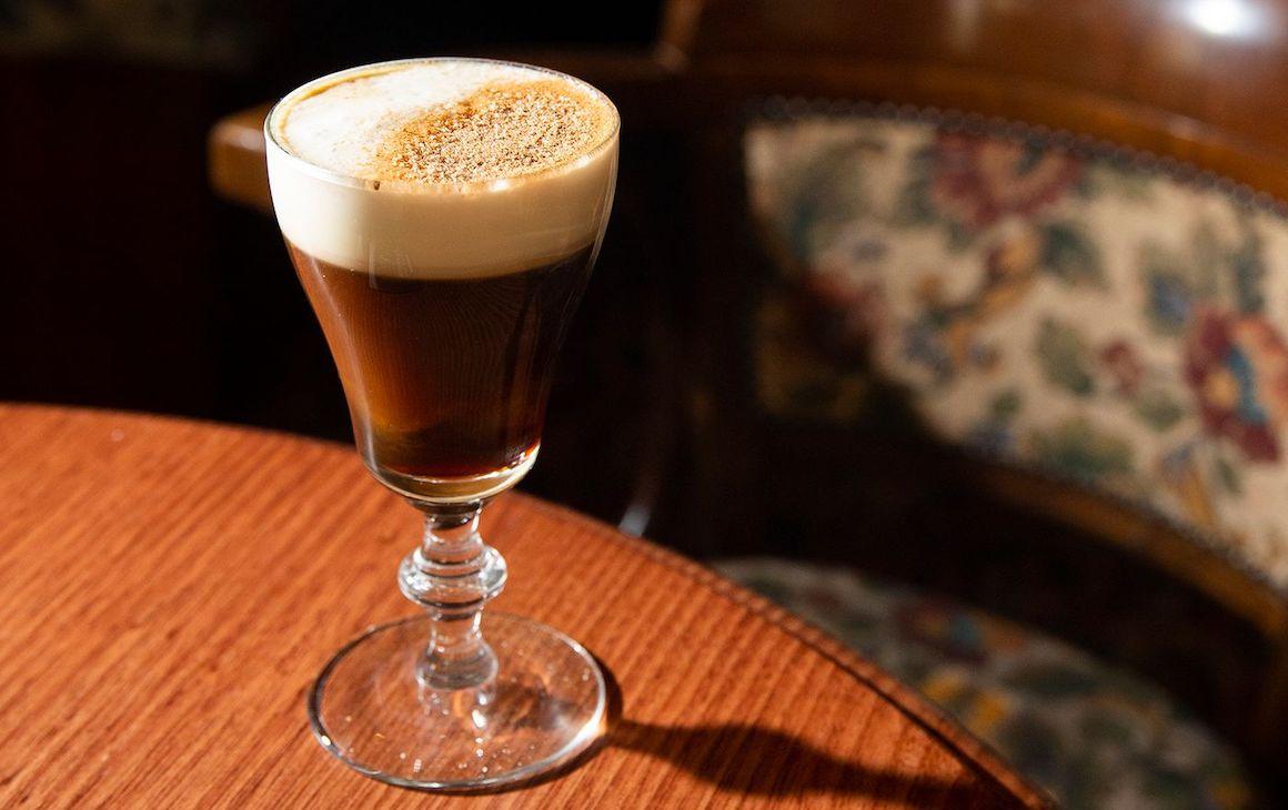 Image of Irish coffee at Johnny Fox's