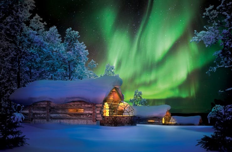 5ee0f6efd268 You Can Now Sleep In Igloos Under The Northern Lights In Finnish ...
