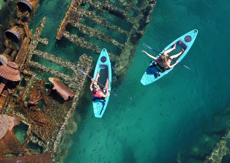 Paddle Through 9 Of The Most Insane Places To Go Kayaking In Brisbane