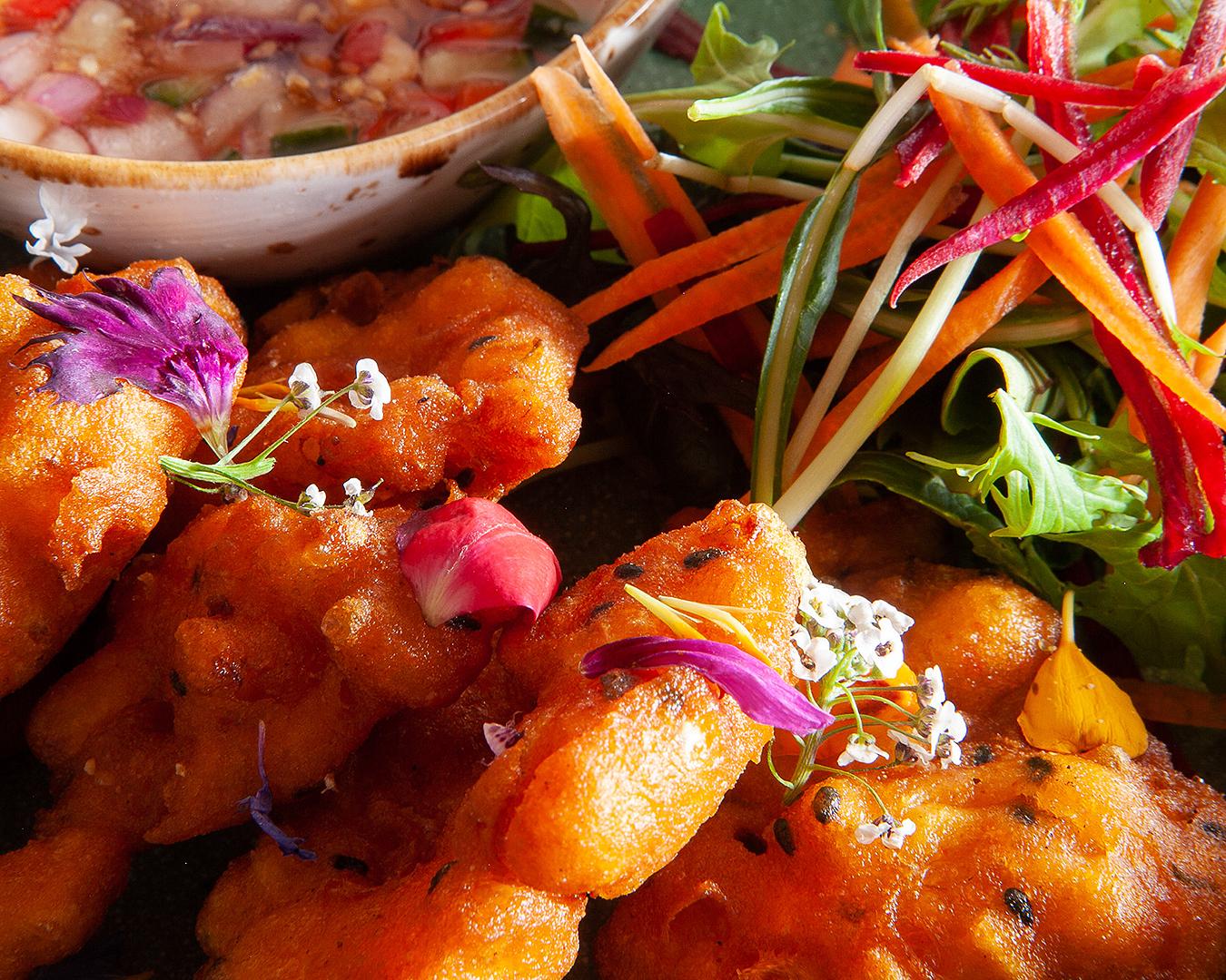 A colourful dish at Khu Khu