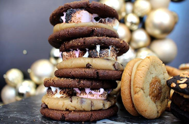 Delicious looking vegan cookies from Kookiehaus