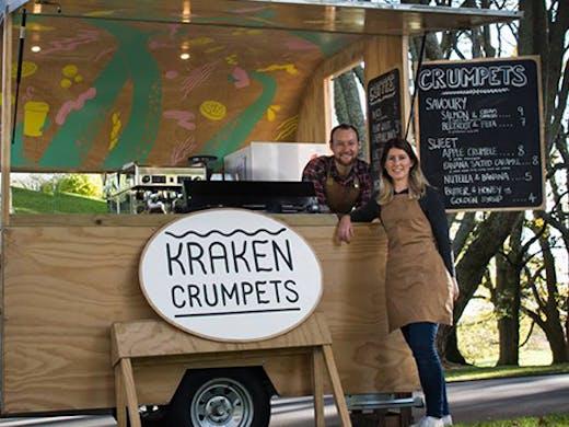 Kraken Crumpets Food Truck Auckland