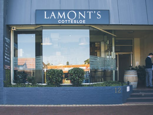 Lamont's Wine Store Cottesloe Perth Bar Restaurant