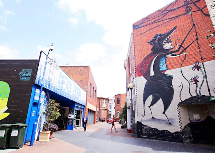 Where To Find All Of The Best Laneways In Perth