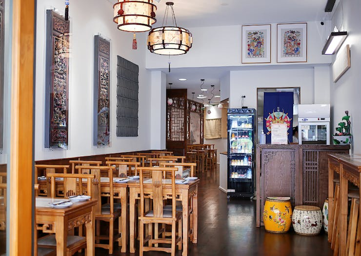 Interior of Lily's Dumpling House