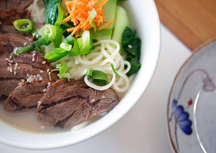 beef noodle bowl