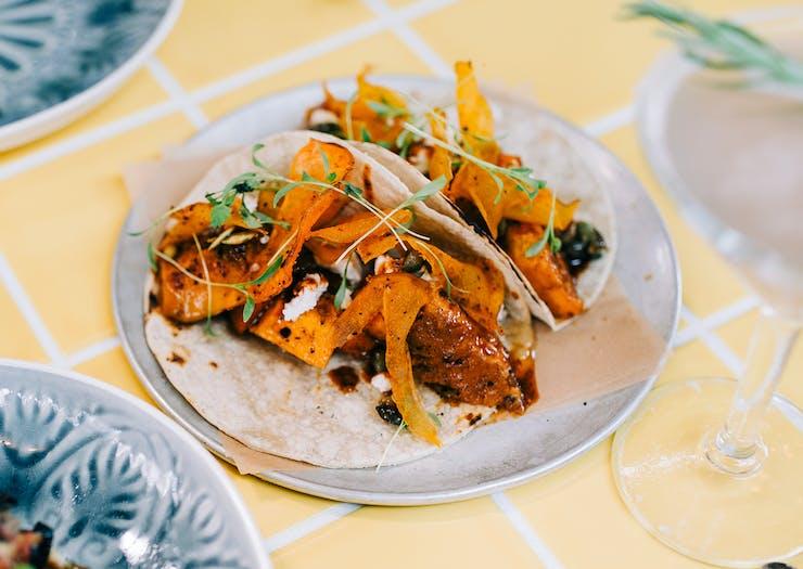 An entree dish at Lolita's Mexican Cantina.