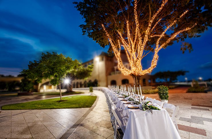 brisbane events, longest dinner under the stars