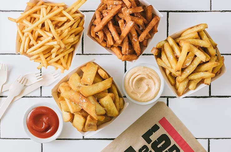 free fries for National French Fry Day at Lord of the Fries