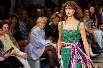Pink, Disco And Prairie Vibes Ran Strong At Fashion Week This Year