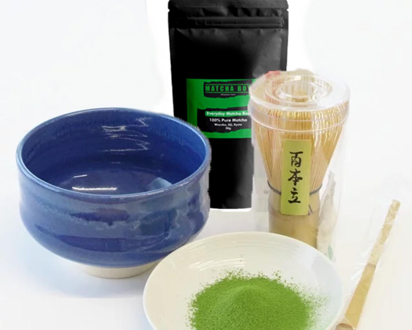 Matcha Boy Tea Set