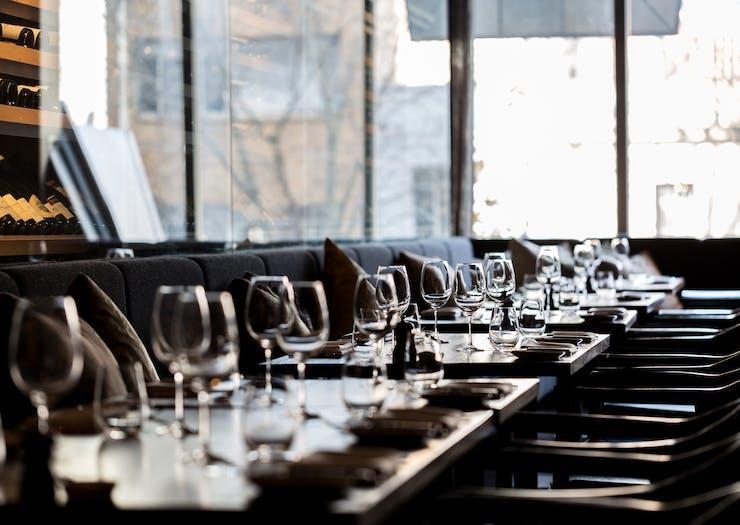 meat fish wine restaurant