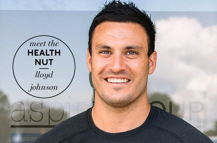 Meet The Health Nut Lloyd Johnson, Perth Health And Fitness, Aspire Group