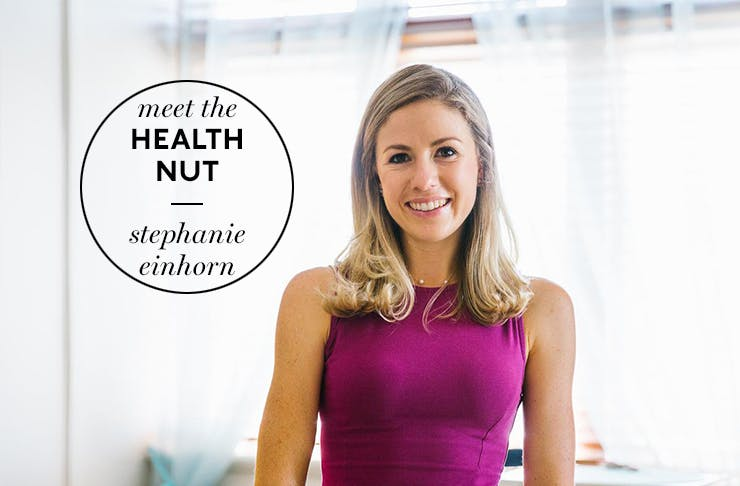 Meet The Health Nut Stephanie Einhorn Perth Health Perth Fitness Kinesiology