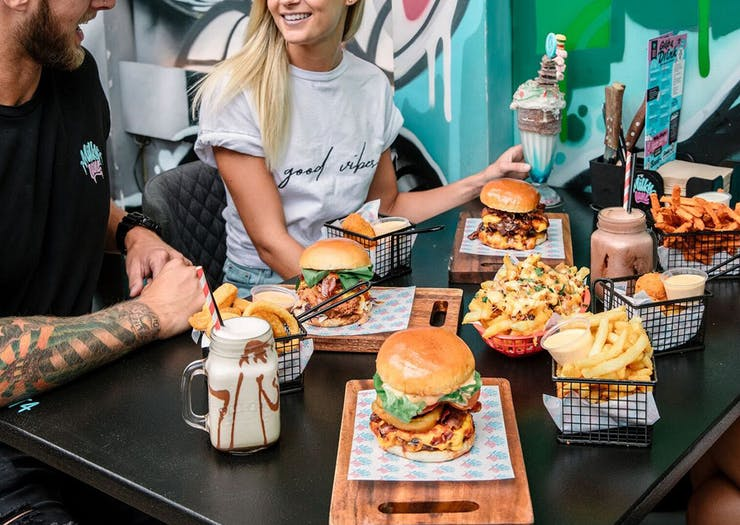 Milky Lane Gold Coast best burgers
