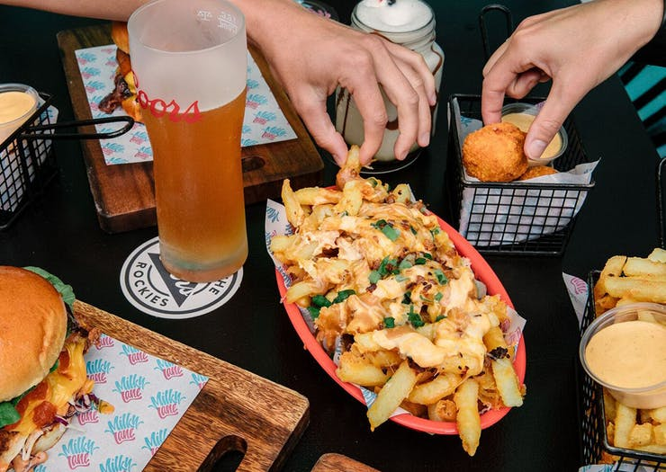 Milky Lane Gold Coast best burgers