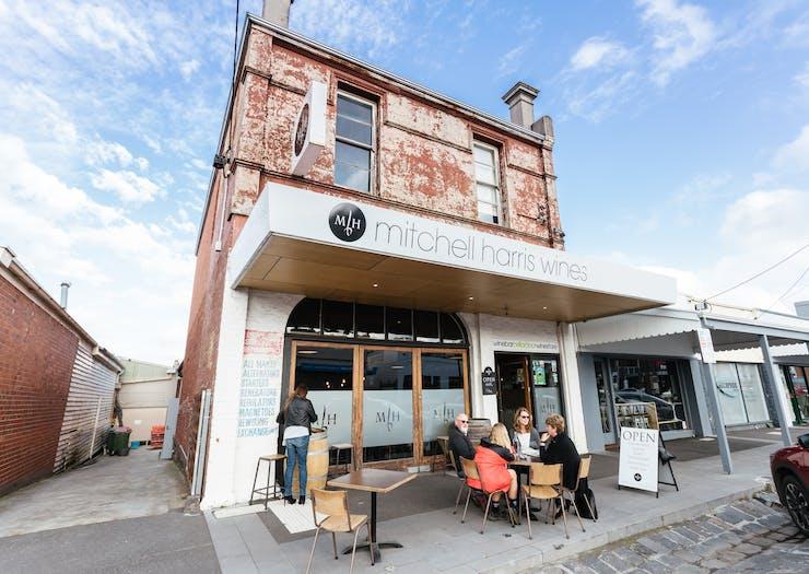mitchell harris wine bar