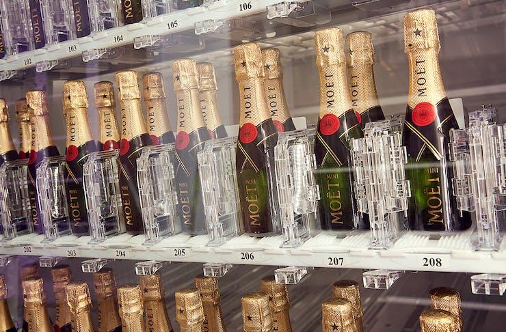 moet & chandon vending machine