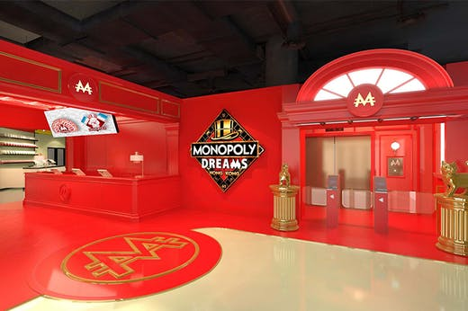 Take A Look At Hong Kong's World First Interactive Monopoly Attraction