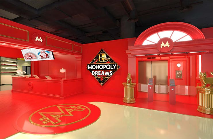 Your First Look At Hong Kong's World First Interactive Monopoly Attraction