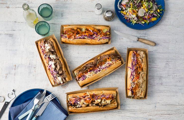 sandwiches in Sydney Monster Rolls