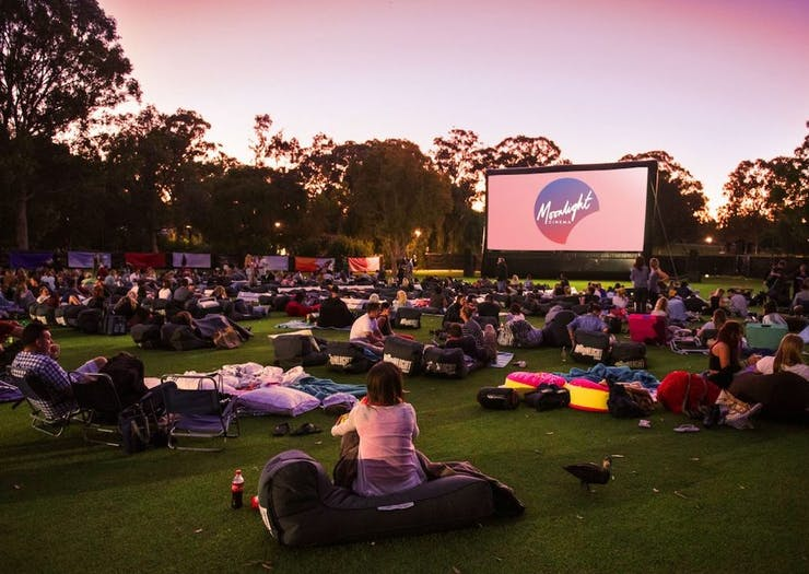 Grab The Picnic Blanket, Perth's Moonlight Cinema Is Back For Summer