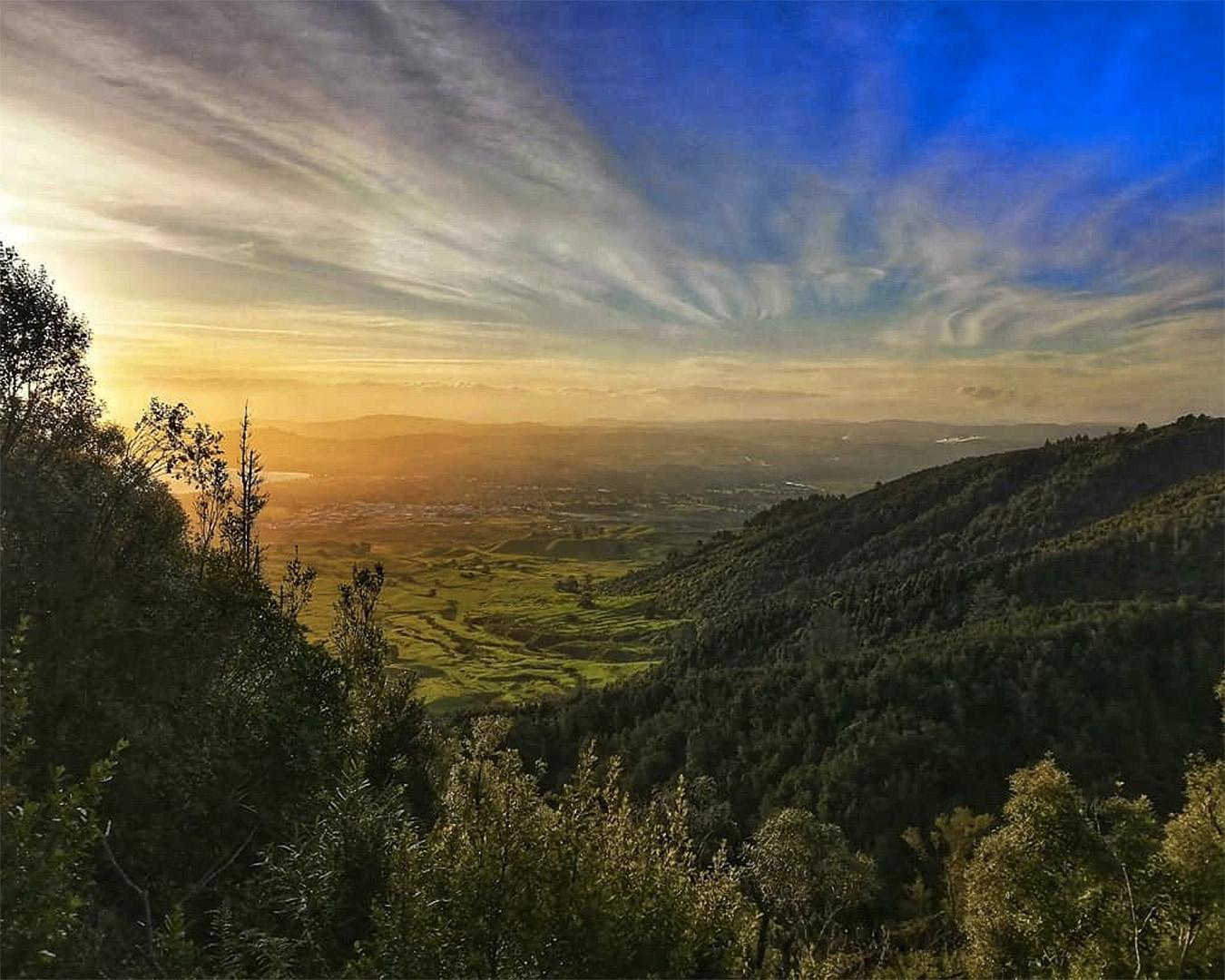 Stunning view over Mt Tauhara