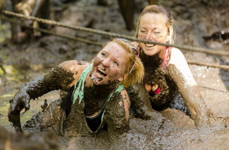 mud up day