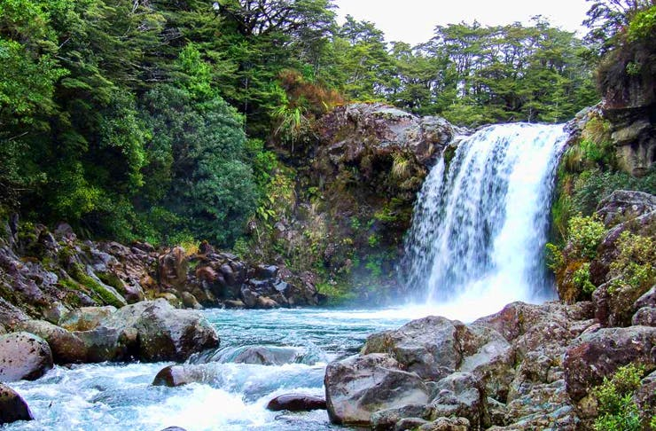 New Zealand's Most Beautiful Waterfalls