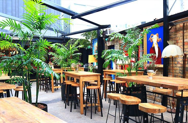 New Opening: Hoppers Garden Bar