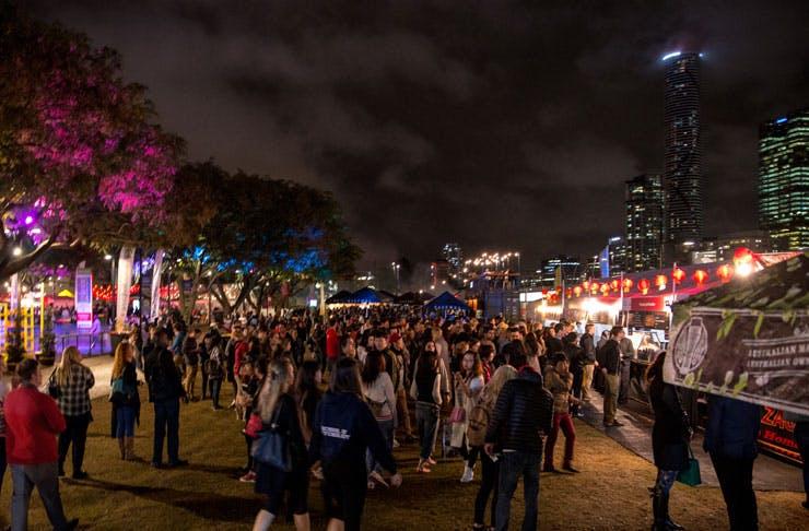 Night Noodle Markets Brisbane