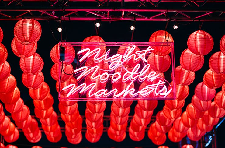 Get Excited, The Night Noodle Markets Are Returning In April