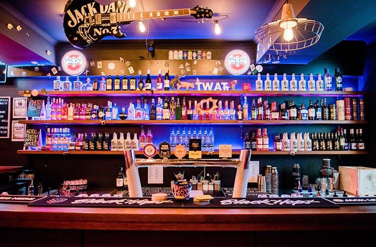 Nightcap dive bar Nobby Beach