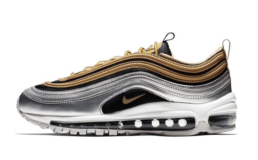 The Nike Air Max 95 Metallic Gold Releases Tomorrow