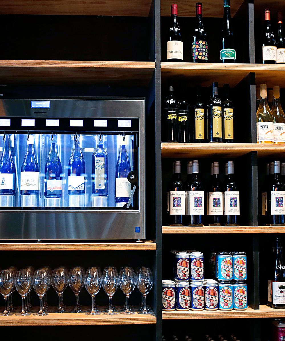 Wine Bottles At Northbirdge Wine Room Northbridge