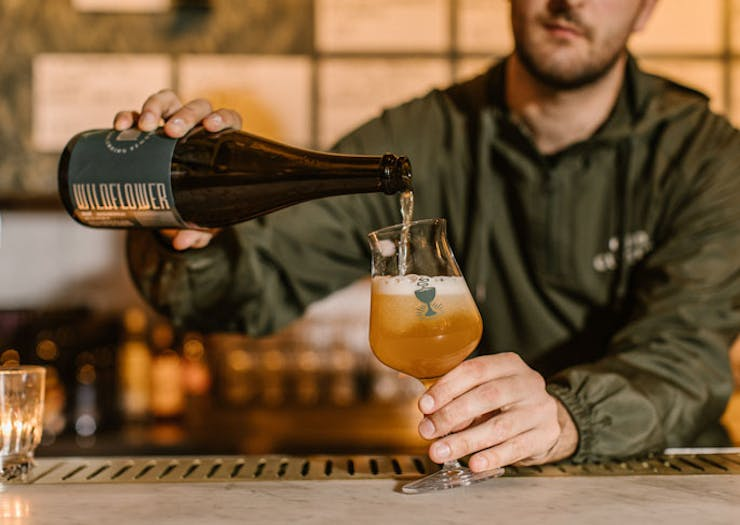 Inside Look: A New Bar Serving Wild Ale And Natural Wine Opens Tonight