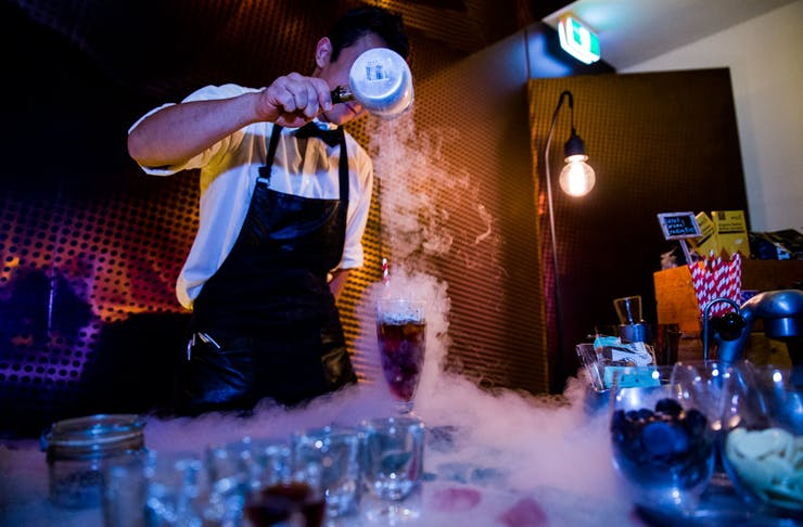 Omnom cocktails Melbourne