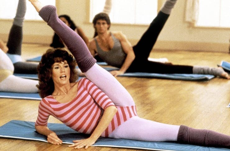 online retro workout