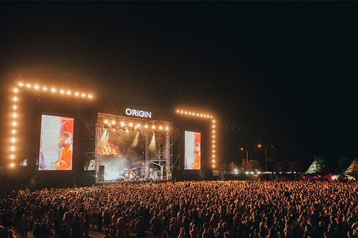 Get Tickets, Origin Fields Is Upping The Ante This Year