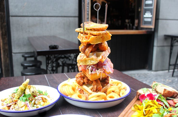 britomart restaurant orleans is serving the best waffles in auckland