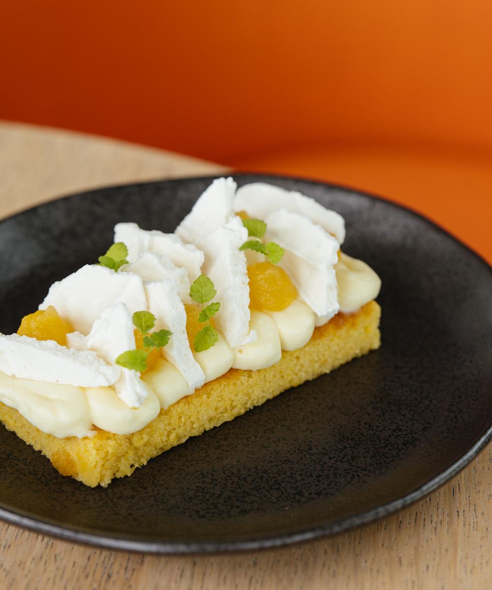 The orange and lemon cake from Harbourside Freo.