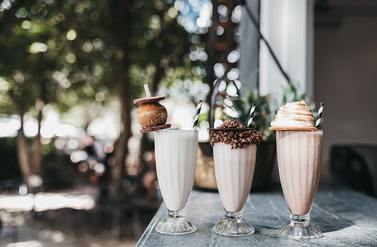 Paddock Bakery Milk Bar Milkshake Bar Miami