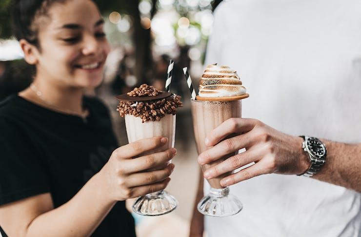 Paddock Bakery Milk Bar Milkshake Bar Miami