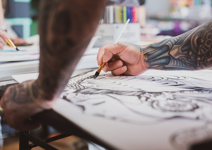 Flex Your Creativity With 5 Of The Sunshine Coast's Best Art Classes