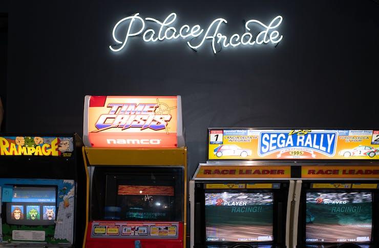 Palace Arcade Bar interior