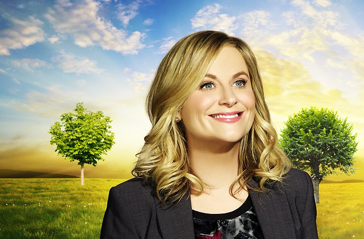 Amy Poehler stars as Leslie Knope in Parks and Recreation